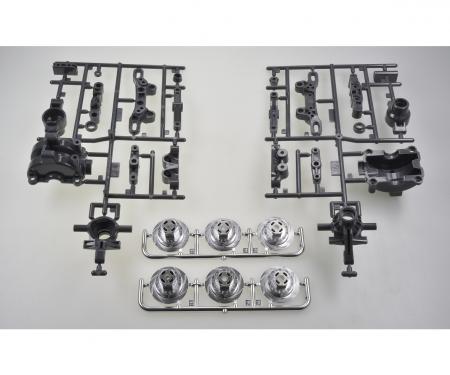 tamiya TT-02/D A-Parts Front Uprights (2)