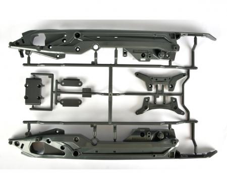 DT03 C-Teile Chassis/Dämpferbrücken