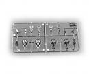 tamiya CC-Teile Chrom Anbauteile FH16 56360