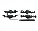tamiya CC-02 B-Teile Differenzialgehäuse v/h