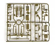 tamiya V/W-Parts Machine Gun w/Mount 56014/16