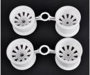tamiya DT03T/St.Blitzer Wheel Set white (2+2)