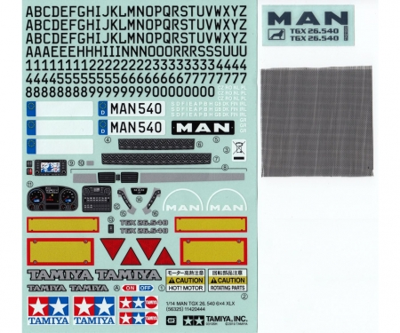 Sticker-Bag MAN TGX  56325