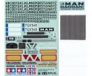 tamiya Sticker-Beutel MAN TGX 18.540 56329
