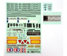tamiya Sticker, Metal Transfer MB Actros 56335
