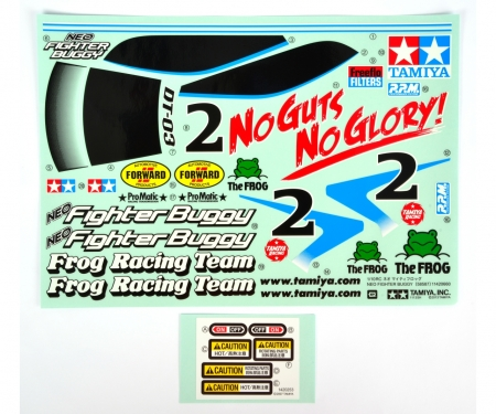 tamiya DT03 Sticker Neo Fighter Buggy