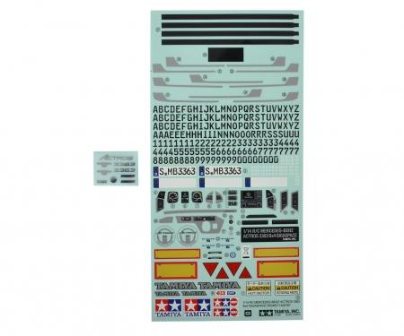 tamiya Sticker MB Actros 3363 / 56348