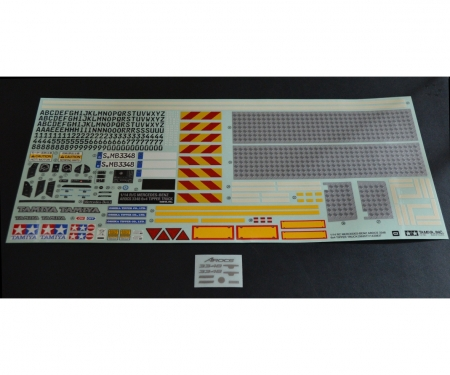 tamiya STICKER BAG : 56357