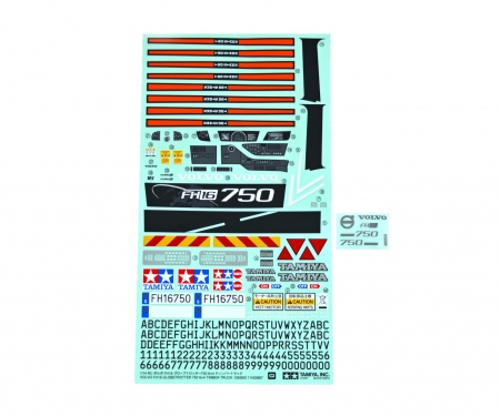 tamiya STICKER BAG : 56360