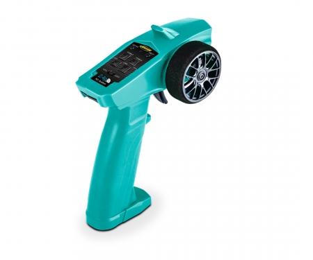 tamiya Reflex Wheel Start 2.4G Radio turquoise