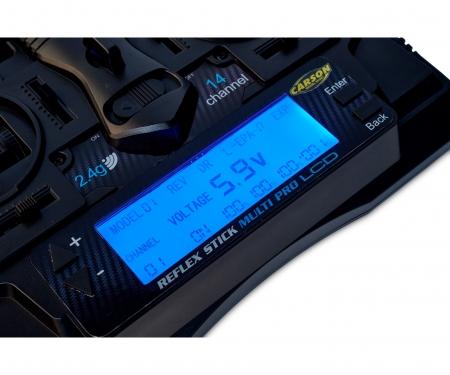 tamiya FS Reflex Stick Multi Pro LCD 2.4G 14CH