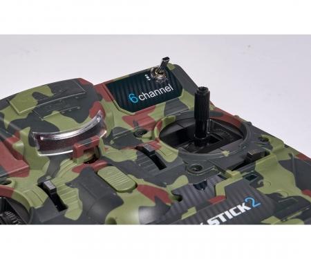 tamiya FS Reflex Stick II 2.4 G 6CH Camouflage