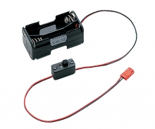 tamiya KO MC-8 Batteriebox mit Schalter (4xAA)