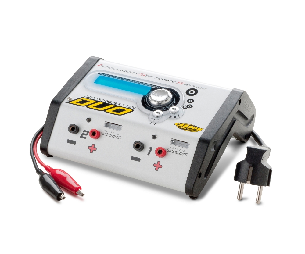 Expert Charger Duo 12v 230v 10a Carson Accessories Electronics Supplies Batteries Chargers Power