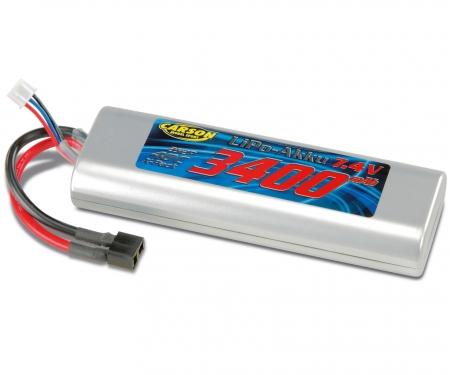 Akku Racing Pack 7,4 V/3400 mAh LiPo 40C