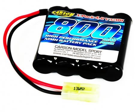 tamiya 4,8V/800mAh NiMH Power Battery Mini-TAM