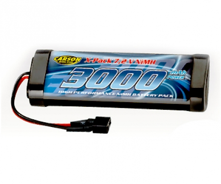 tamiya 7,2V/3000mAh NiMH Race Battery T-Plug