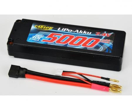 tamiya 7,4V/5000mAh 30C LiPO Battery T-Pl. HC