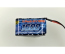 tamiya 6V/1600mAh NiMH RX-Battery Hump JR