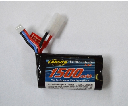 tamiya 7,4V/1500mAh LiION Battery FE-Line TAM