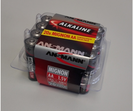 tamiya Battery Box Mignon/AA 1,5V (20)