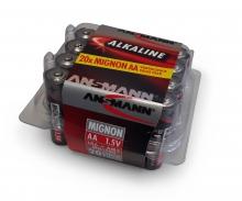 tamiya 1,5V Alkaline Mignon AA Batt.-Box (20)