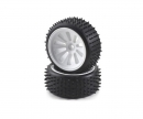 tamiya Tyre/ wheel rim set CV-10B white (4)