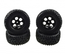 tamiya Desert W.4x Tyre Wheel Set