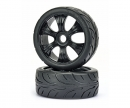 1:8 Buggy tyres Street black (2 pcs)