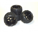 tamiya X10ET Beat Warrior wheel set (4)