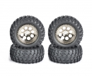 tamiya 1:10 Off-Road Cross Country Wheel-Set(4)