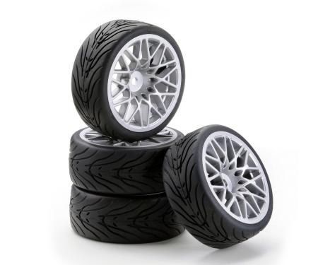 1:10 SC-Räder LM Style silber (4)
