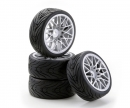 tamiya 1:10 SC-Räder LM Style silber (4)