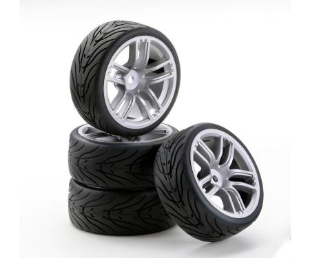 tamiya 1:10 SC-Räder GT Style silber (4)