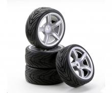 1:10 SC-Räder AMC Style silber (4)