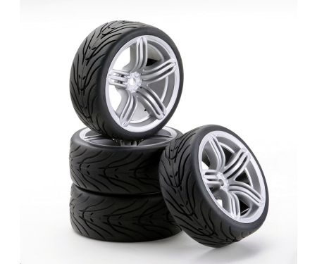 1:10 SC-Räder 6S Style silber (4)
