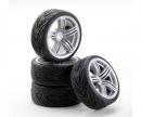 tamiya 1:10 SC-Wheel 6S Style silver (4)