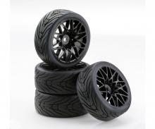 1:10 SC-Räder LM Style schwarz (4)
