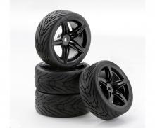 1:10 SC-Räder F12 Style schwarz (4)