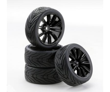 tamiya 1:10 SC-Räder VINS Style schwarz (4)