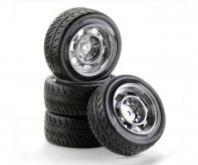 tamiya 1:10 SC-Wheel Rat Style silver (4)