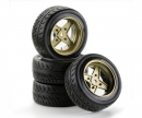 tamiya 1:10 SC-Wheel Classic1 Style gold (4)