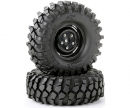 Tire set Crawler 108mm bl. scale rim