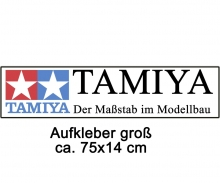 Sticker TAMIYA large 75x14cm