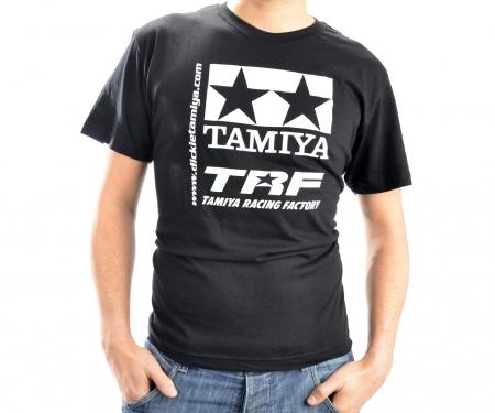 T-Shirt TAMIYA schwarz - S
