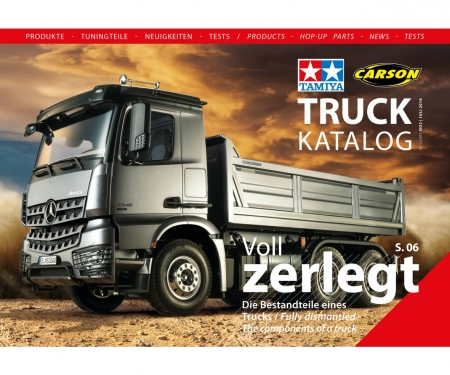 tamiya Truck-Katalog 2018 TAMIYA/CARS. DE/EN
