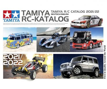 tamiya TAMIYA RC-Katalog 2021/22 DE/EN