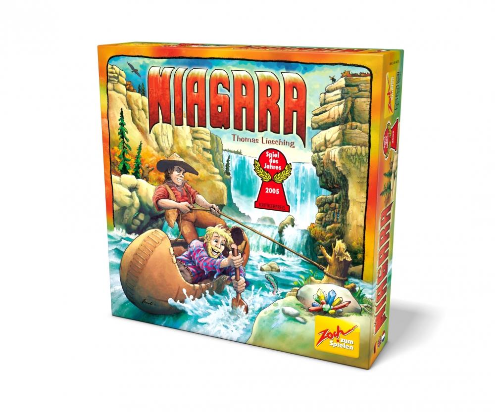 Spiel des Jahres 2005 ab 8 Jahren Brettspiel Thomas Liesching Gesellschaftsspiele Zoch Niagara