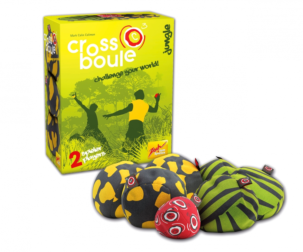 Zoch 601131600 CrossBoule Set Jungle Game